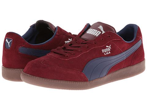 b2ac29a5a594 PUMA Liga Suede Classic Zinfandel Peacoat Review - Men s Street Shoes