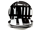 Deals on Lenox DKNY by Lenox Urban Graffiti Tidbit Plate Set of 4