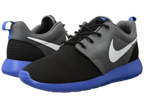 sneakers for cheap fe91f 4c057 Nike Roshe Run Black Hyper Cobalt White Dark Grey