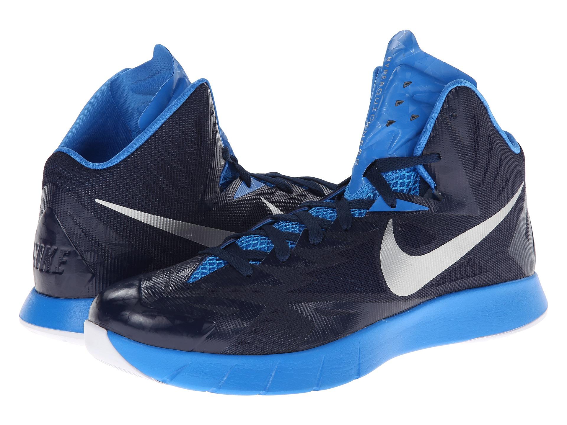 nike basketball shoes blue lunar