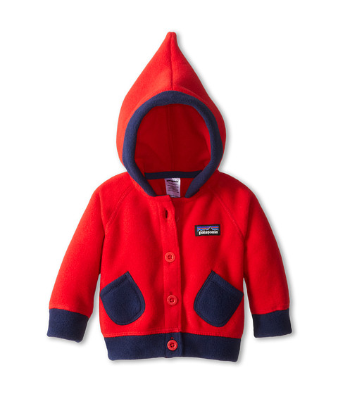 Patagonia Kids Baby Swirly Top Jacket Infant Toddler Red