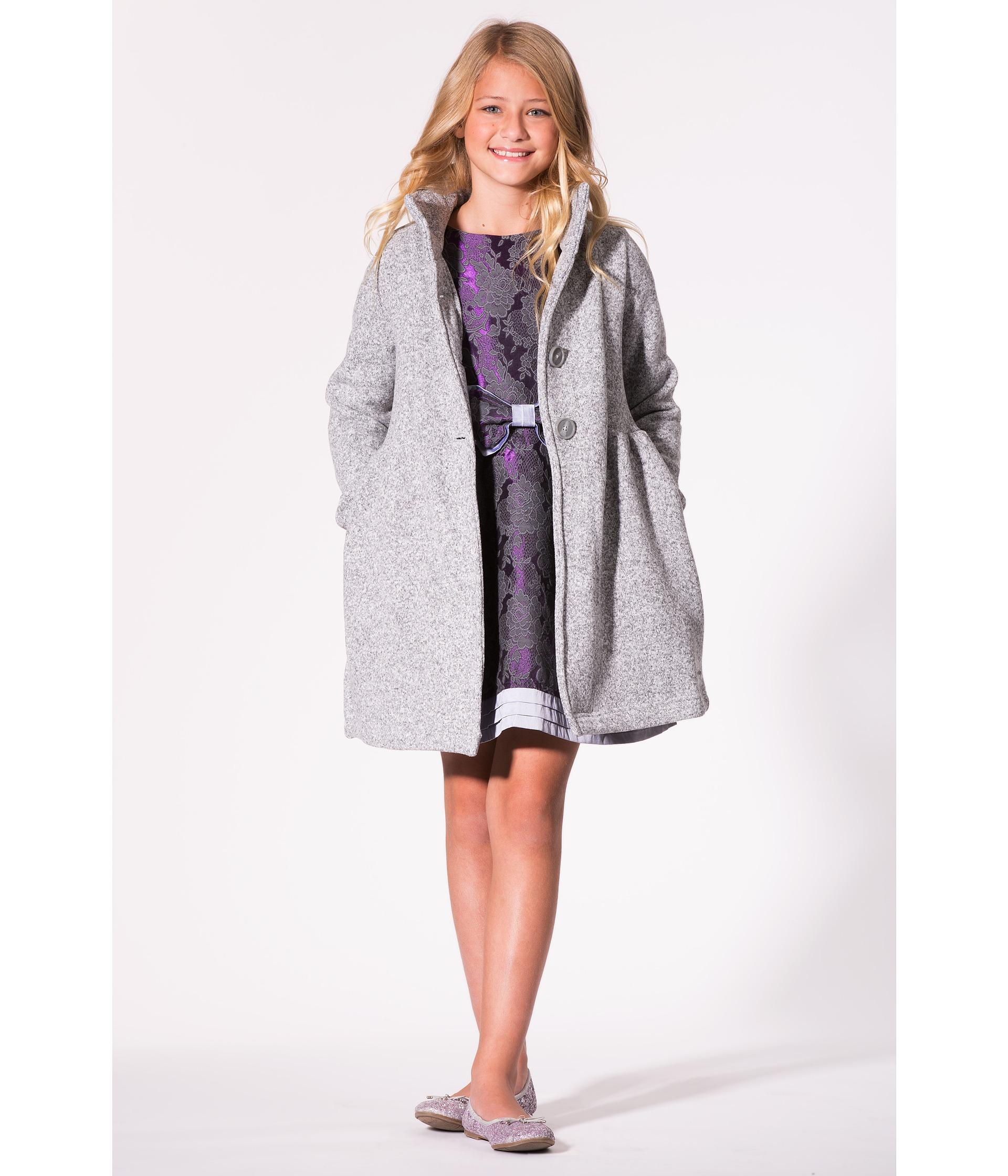 84392088bfe Girls Sweater Coat - Sm Coats