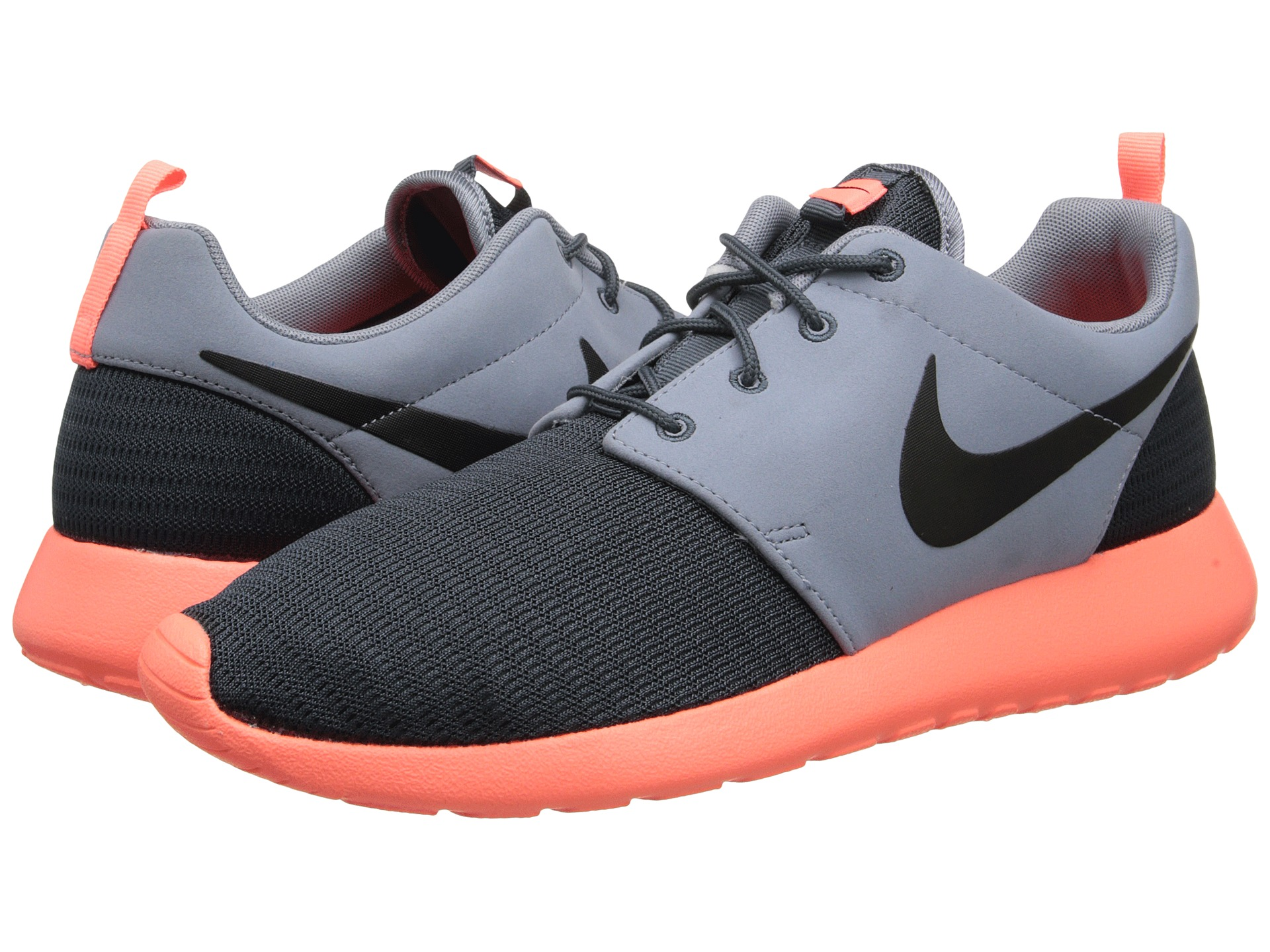 brand new 364b6 cd877 Nike Roshe Run Dk Magnet Grey Magnet Grey Bright Mango Black