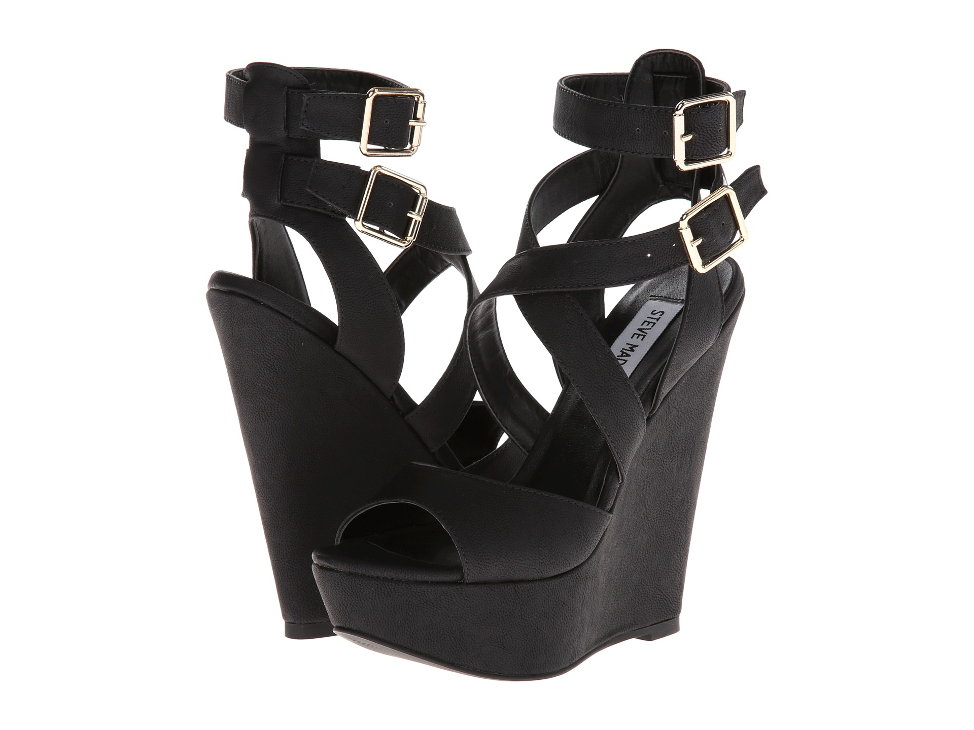 94e6939069b Black Platform Sandals: Steve Madden Xfoliate