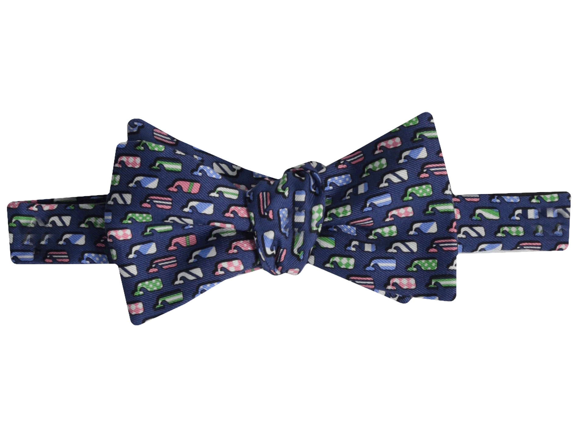 Vineyard Vines Kentucky Derby Silk Whales Bow Tie Shipped Free At Zappos