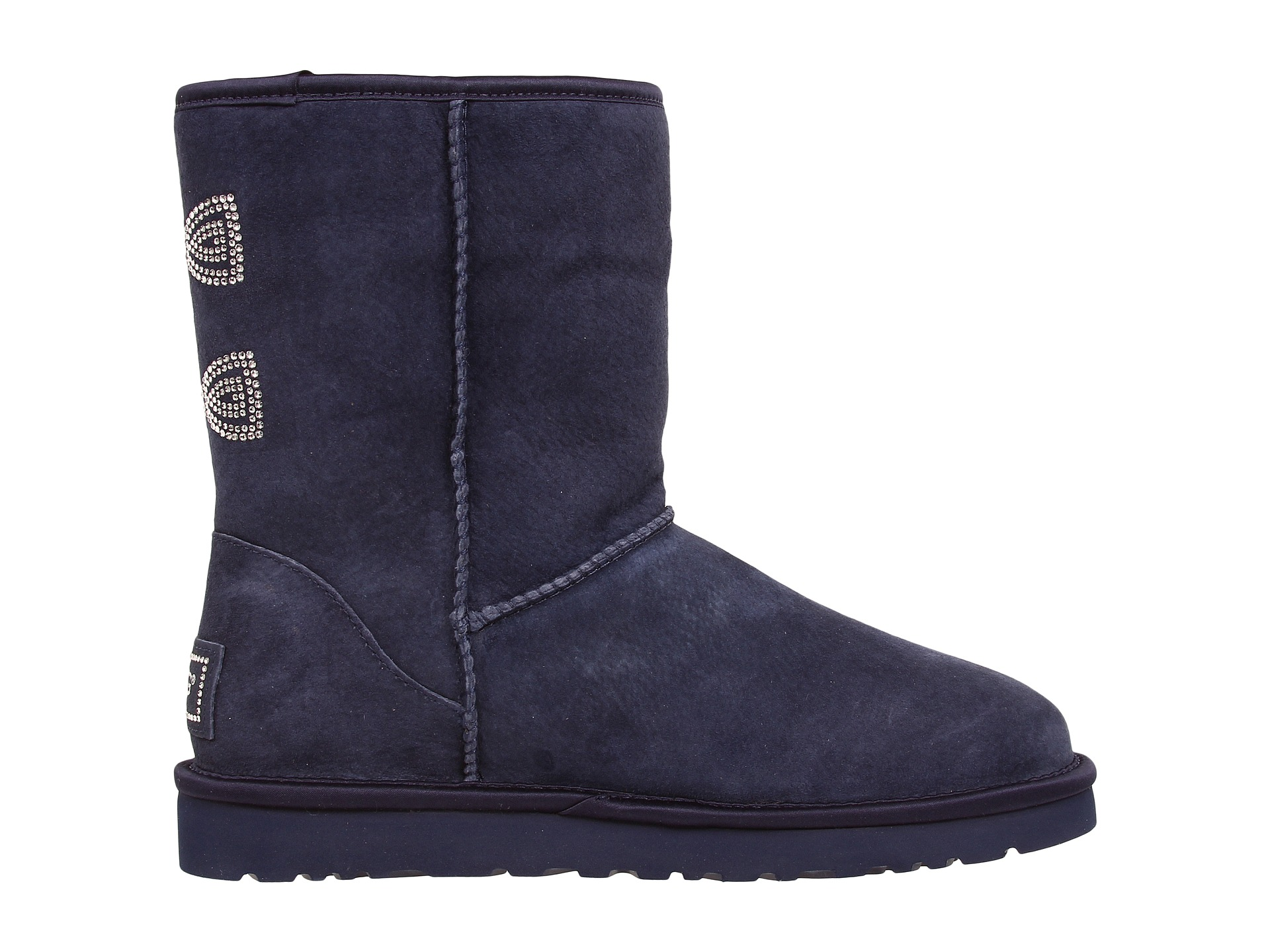a743a798b Short Ugg Boots With Bow On Side