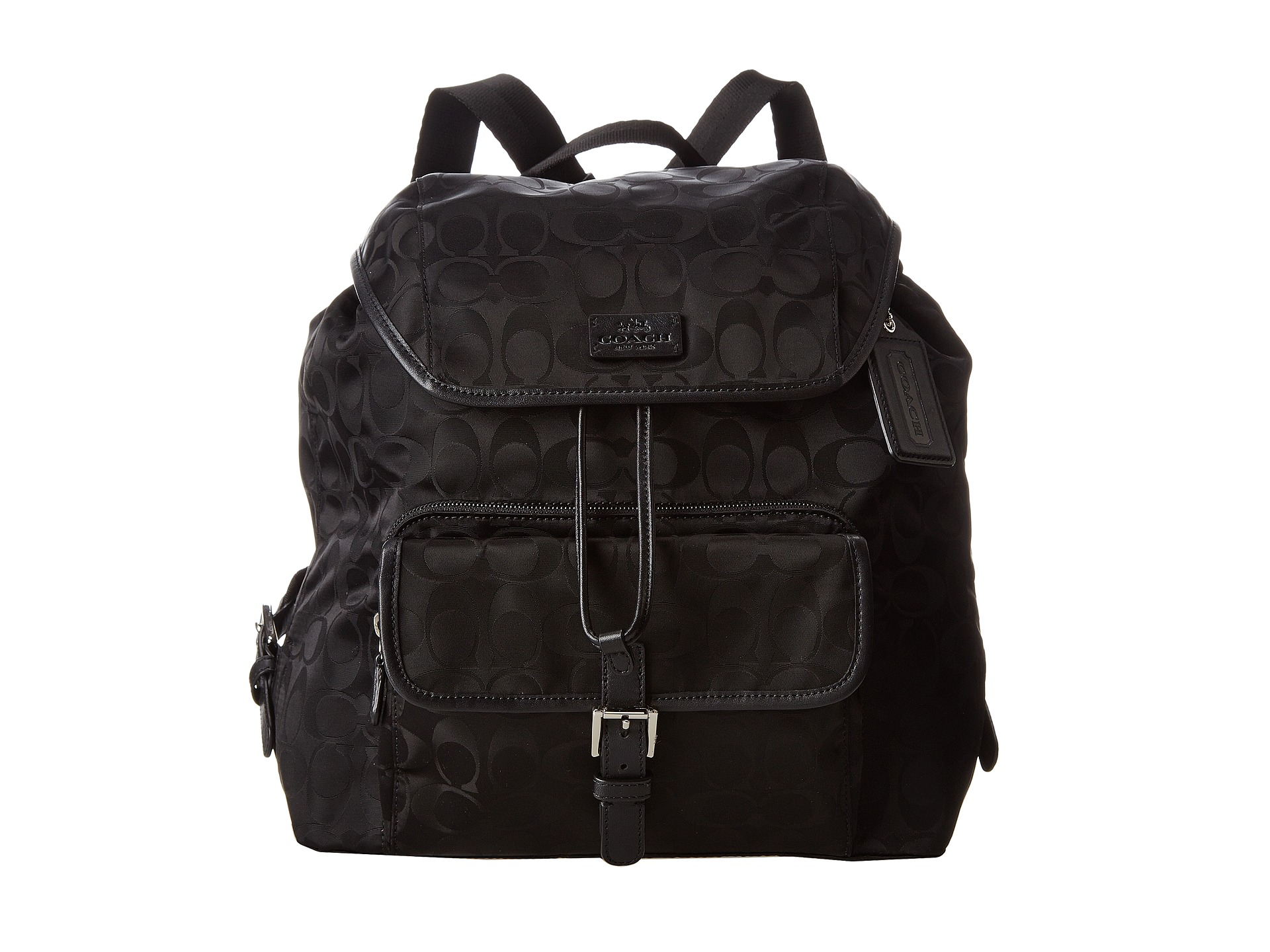 f7c006e893 Coach Signature Nylon Backpack
