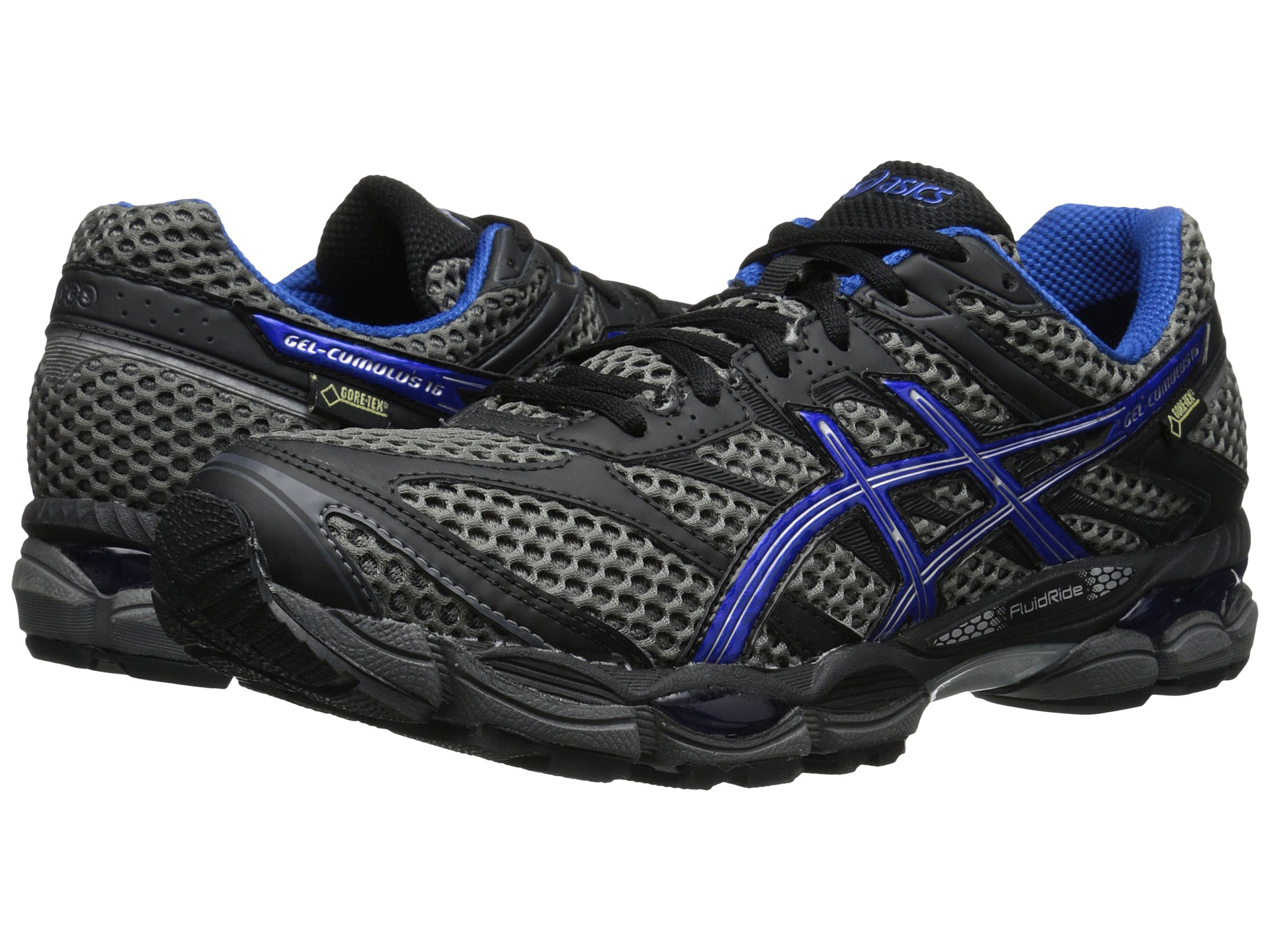 asics gel cumulus 16 gtx shoes shipped free at zappos. Black Bedroom Furniture Sets. Home Design Ideas