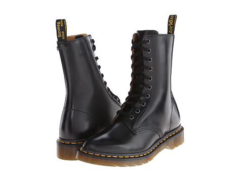 3e37e14637fb Get your hippie chick style going on with the  60s-inspired Alix 10-Eye Zip  Boot from Dr. Martens®!