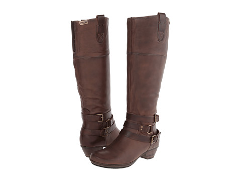 b4aa5242381 Pikolinos Brujas 801 7011f Chocolate Boots - Stylish Women Boots