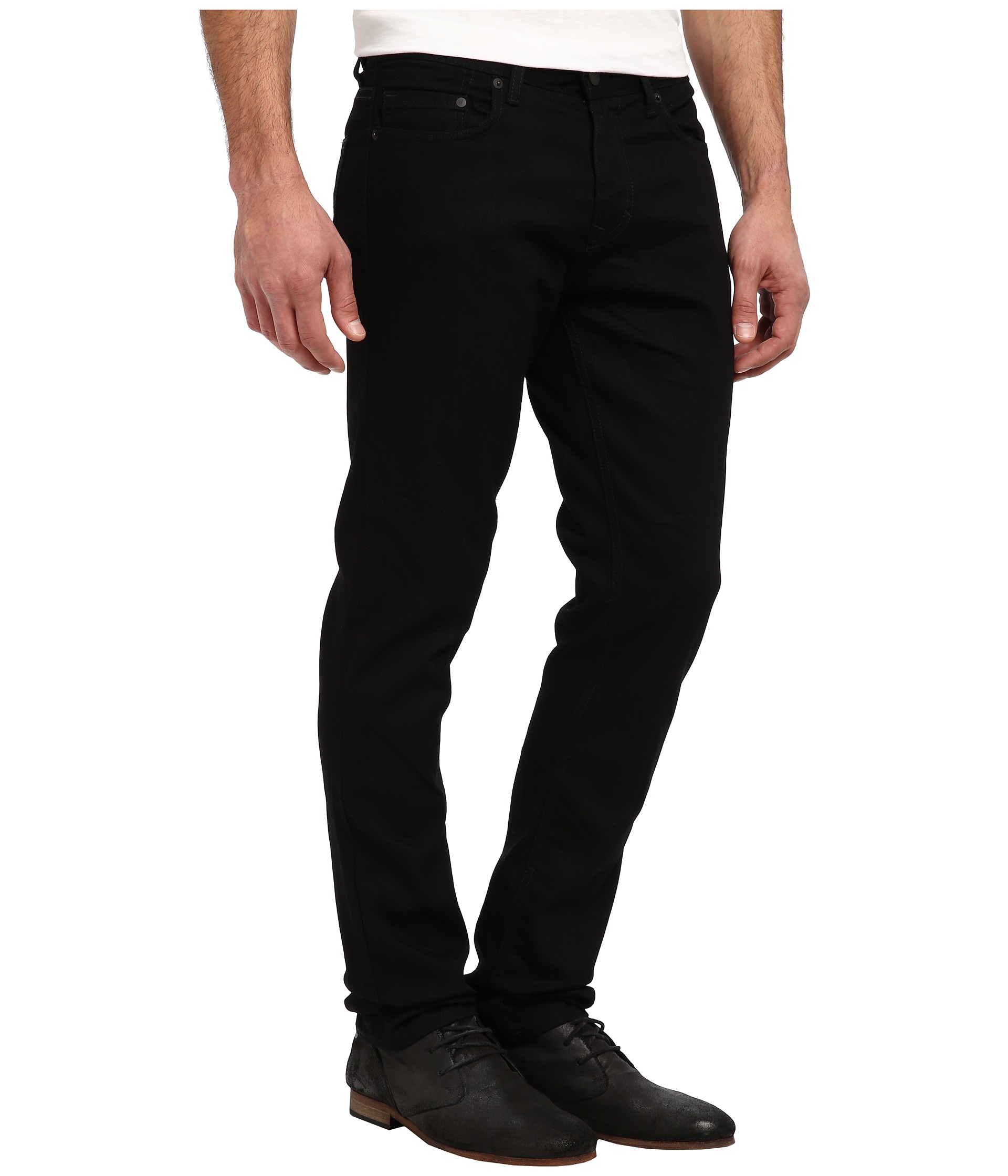 6bc509c8b05 Calvin Klein Jeans Slim Fit in Clean Black at outlet - filmorama.si