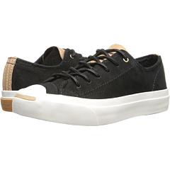 aeb57a9161fc Converse Jack Purcell® Split Tongue Leather Converse Black Nougat ...