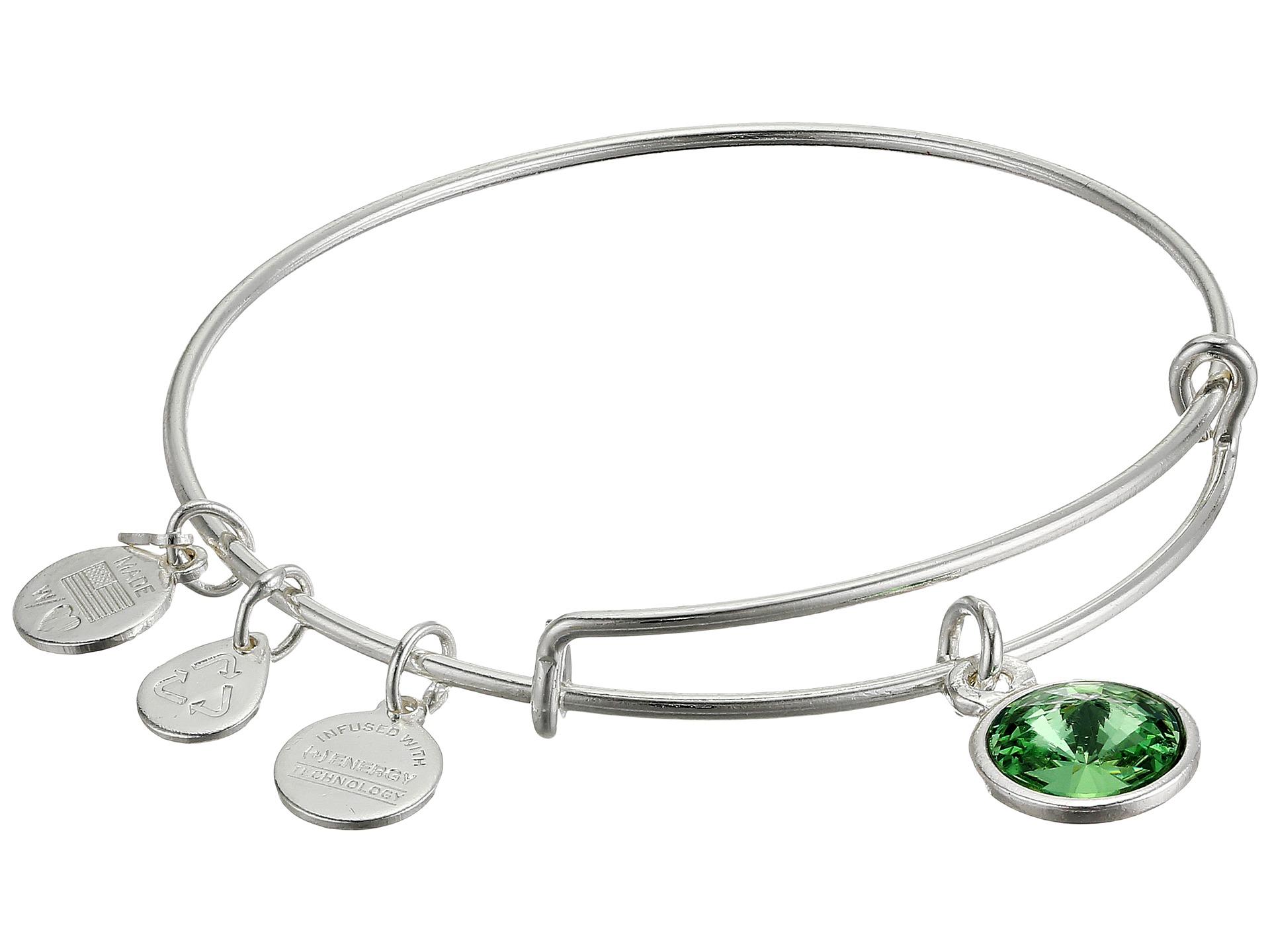 Alex And Ani Emerald Bracelet