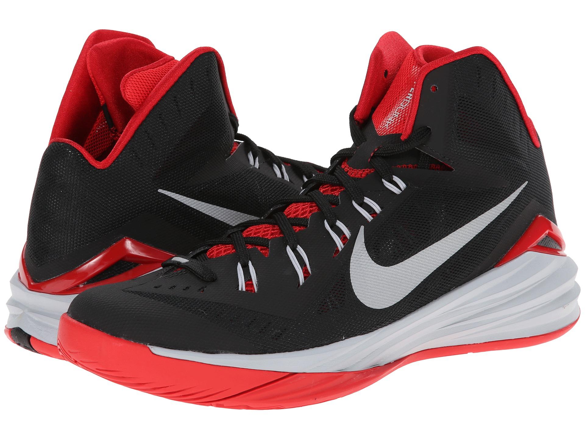 Nike Hyperdunk 2014 Black/University Red/Wolf Grey ...