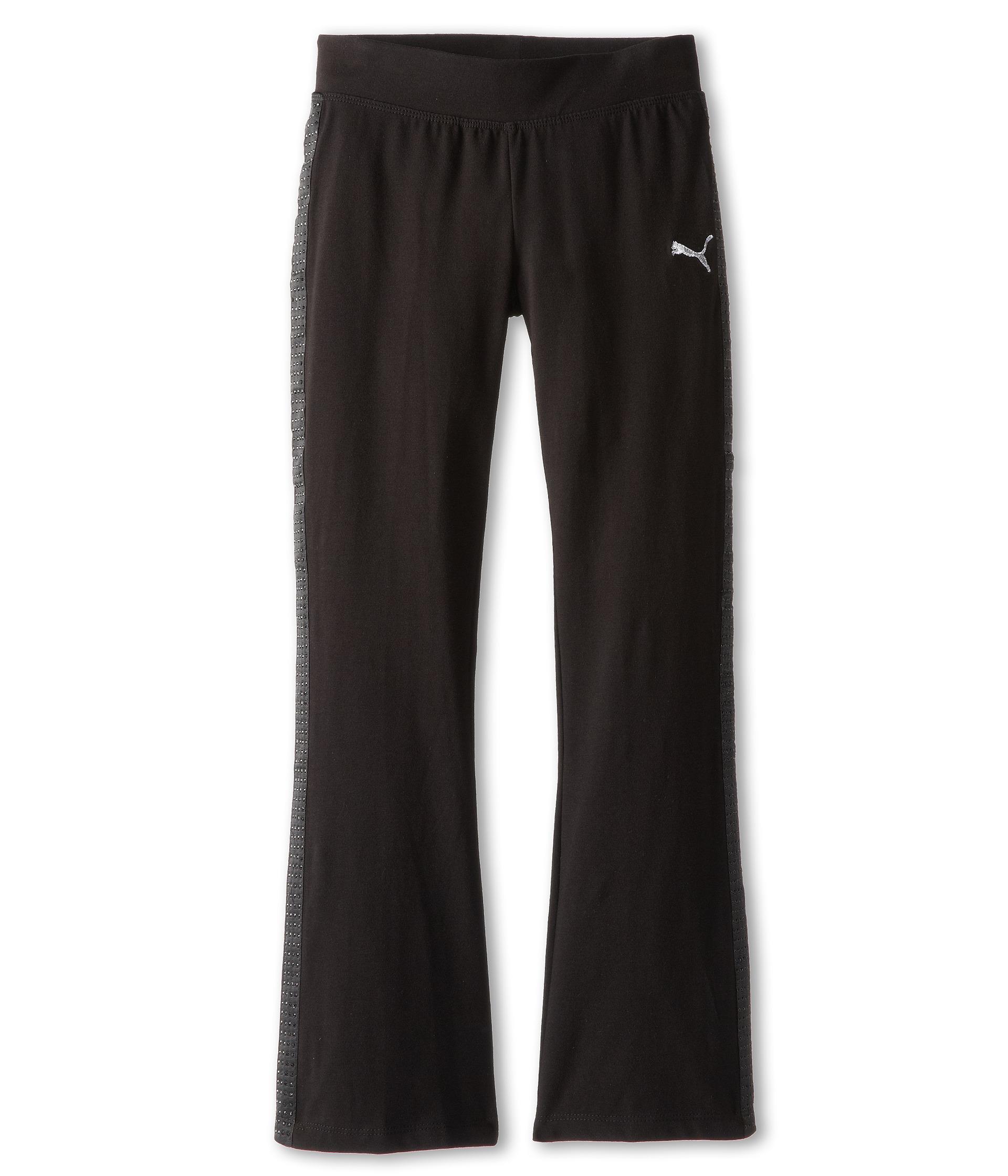 375909d499 Puma Kids Studded Tuxedo Yoga Pant Big Kids   Shipped Free at Zappos