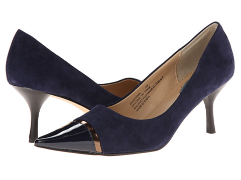 8b8b264227 Fitzwell Samantha Navy Suede Shoe - Best Women High Heels