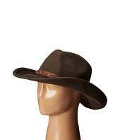 """WFH7940 3.5"""" Brim Wool Felt Cowboy with Grommets San Diego Hat Company"""