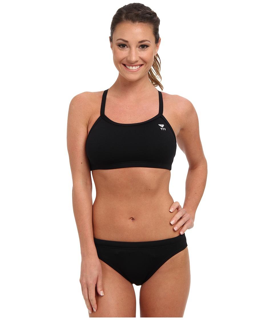 6fcdf28b7196e  30.00 More Details · TYR - Durafast Elite Solids Diamondfit Workout Bikini  (Black) Women s Swimwear Sets