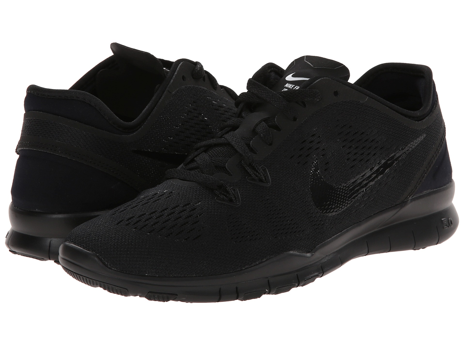 hot sale online fb057 b8cab womens nike free tr fit all black