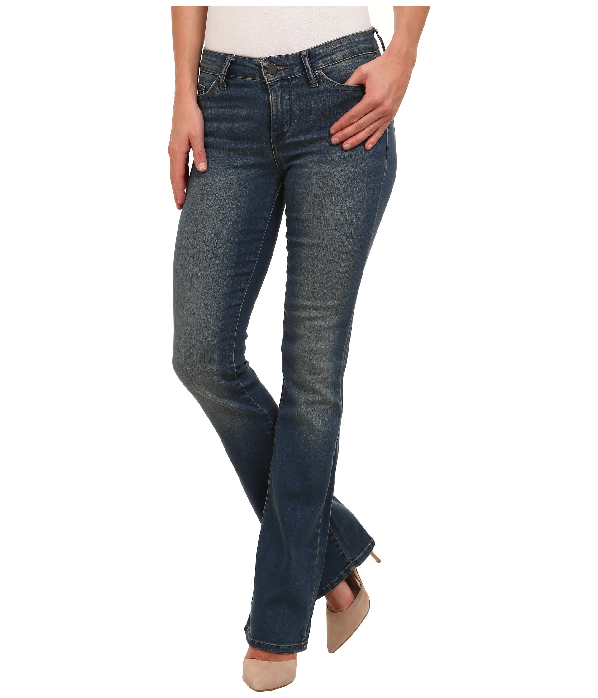 Skinny Fit Jeans With Zipper Pockets Calvin Klein Jeans ...