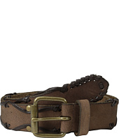 38mm Leather Belt w/ Harness Buckle John Varvatos