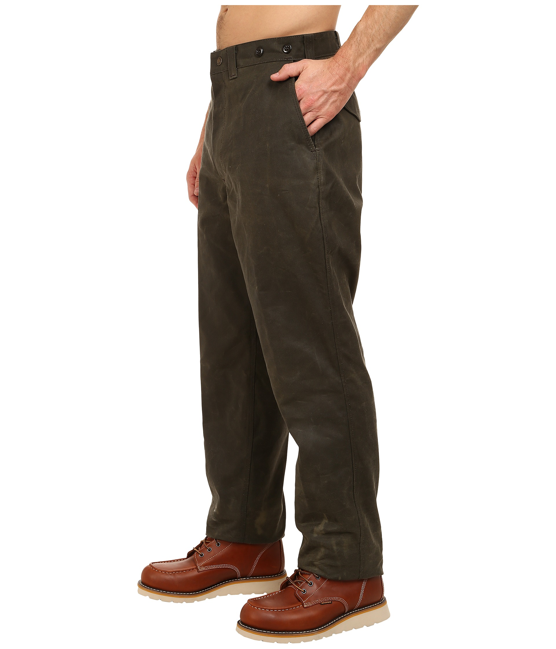 Filson single tin pants