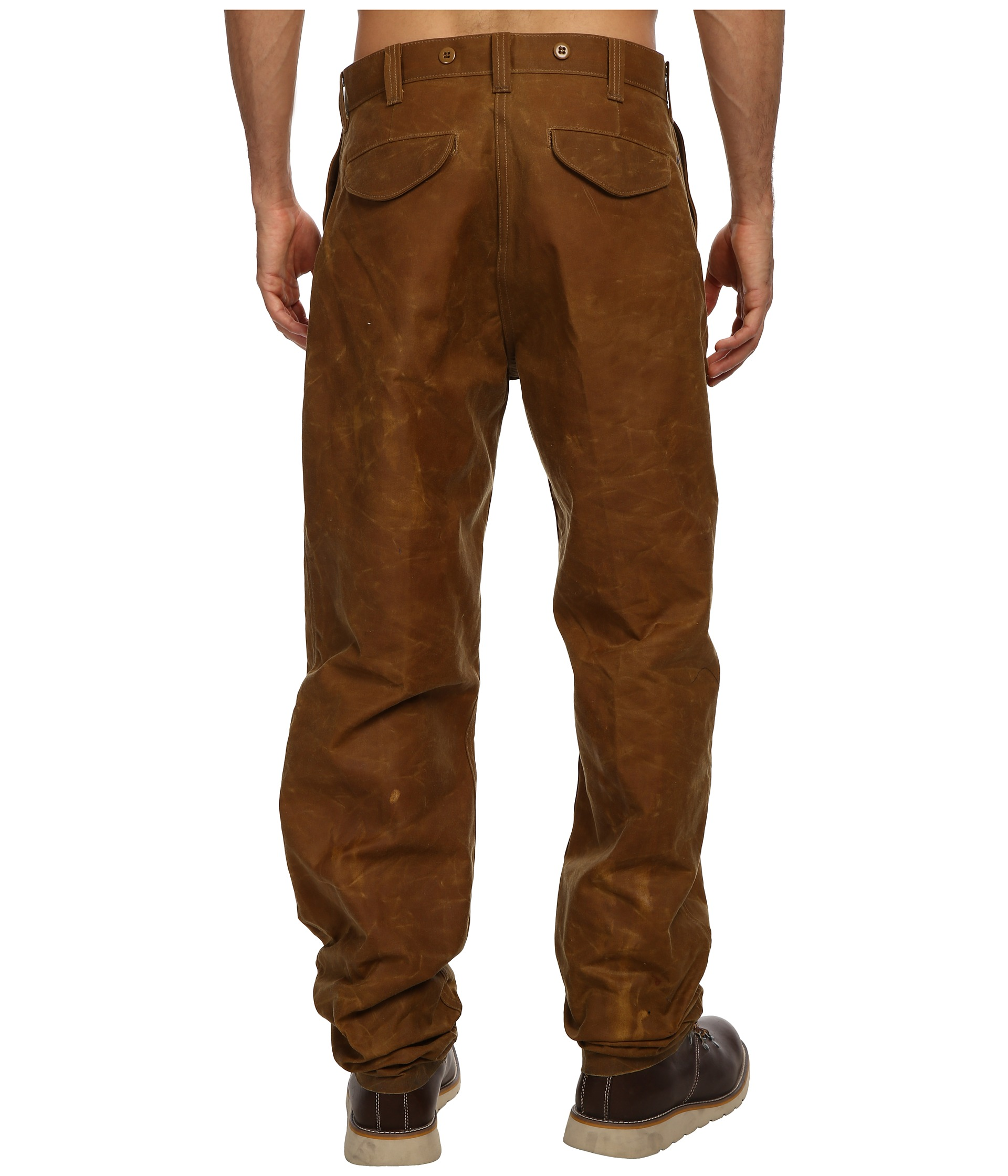 Filson single tin cloth pants