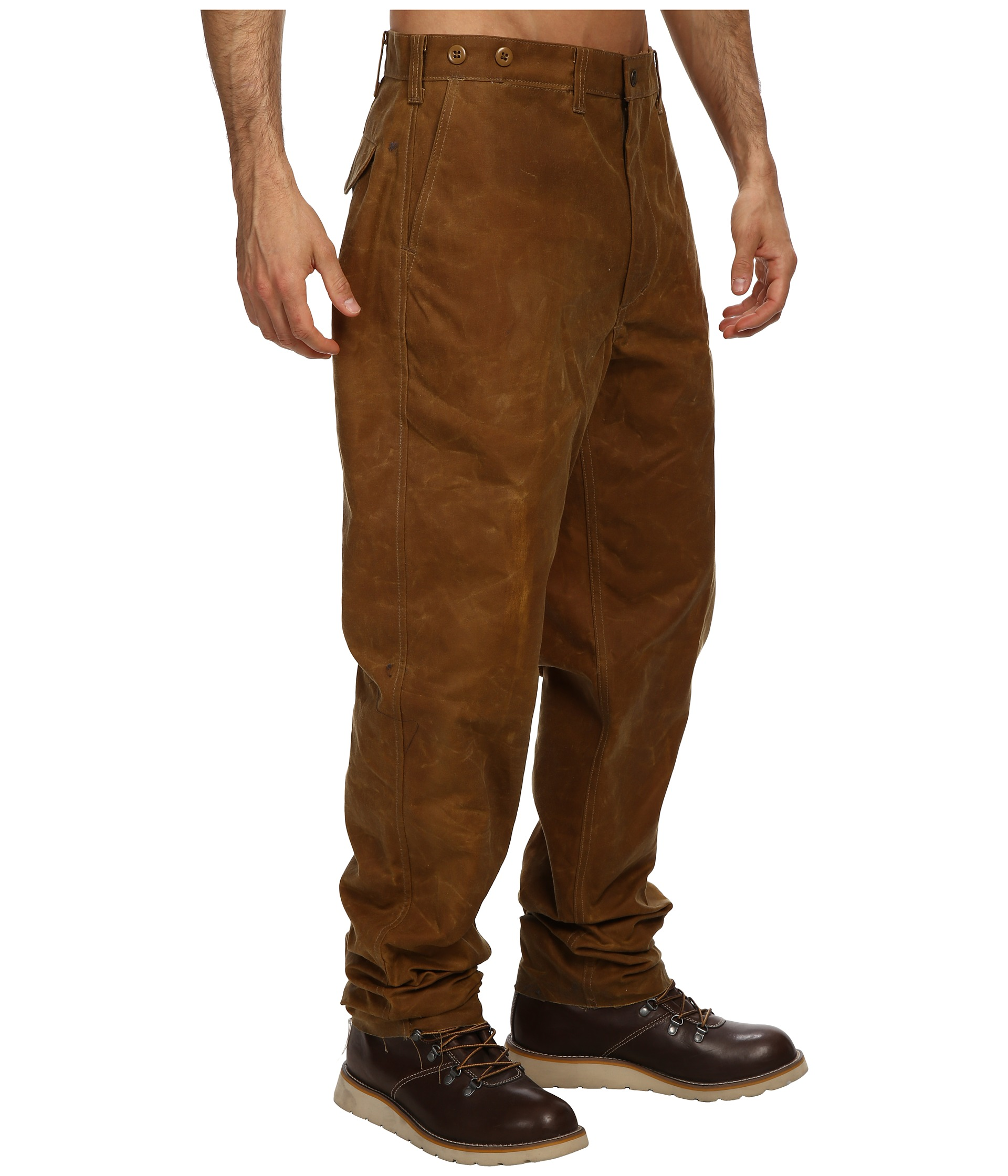 Filson double or single tin pants