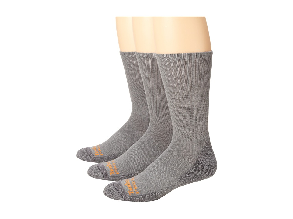 ecef58011 ... UPC 672598246568 product image for Timberland - TPS31410 Crew 3-Pair  Pack (Grey) ...