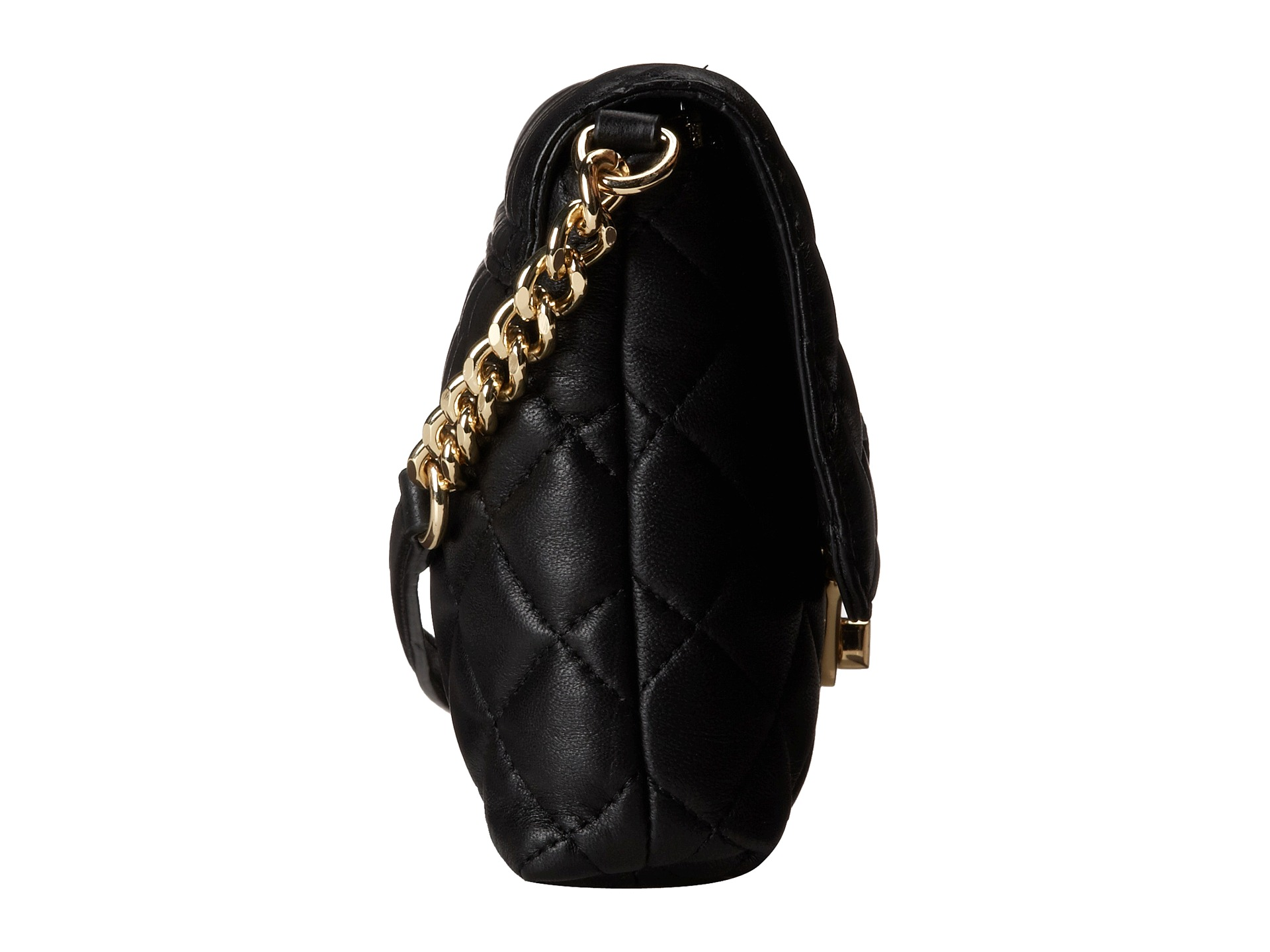 Calvin Klein Quilted Lamb Leather Crossbody Zappos Com