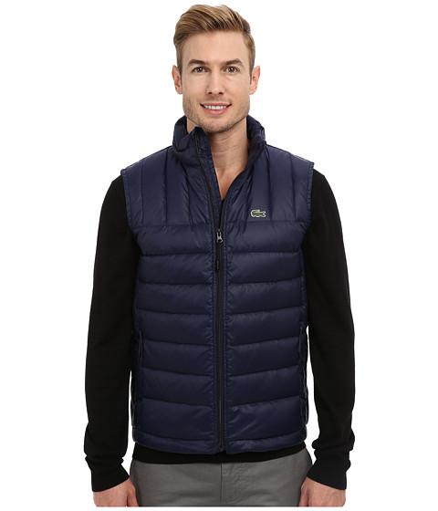 010b32270 Get Cheap Lacoste Packable Down Vest Navy Blue Navy Blue - Men s ...