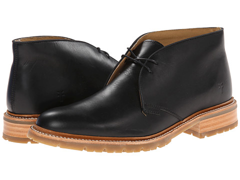 Frye James Lug Chukka Black Smooth Full Grain 6pm Com