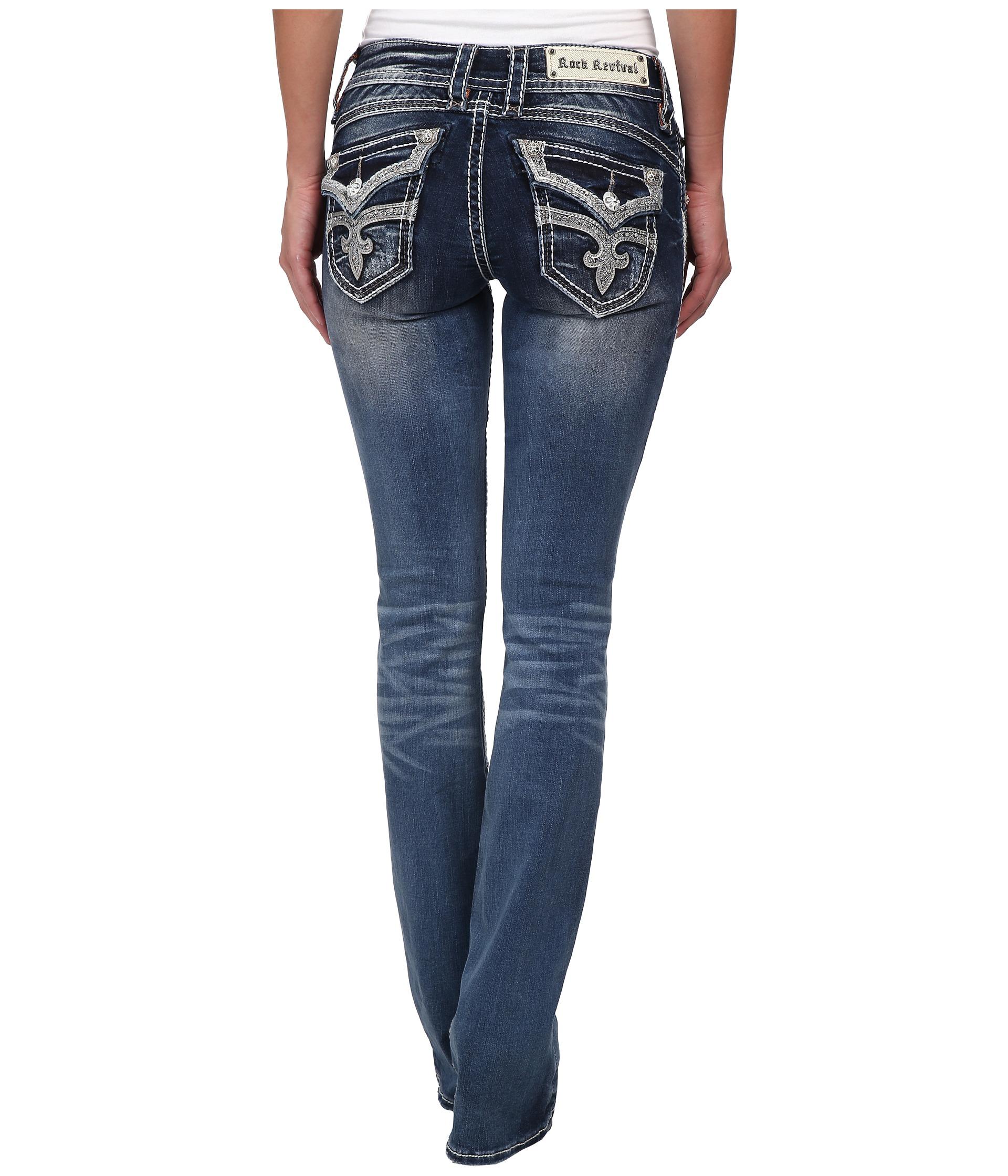 Rock Revival Stephanie B40 Sequin Embellished Skinny Jean