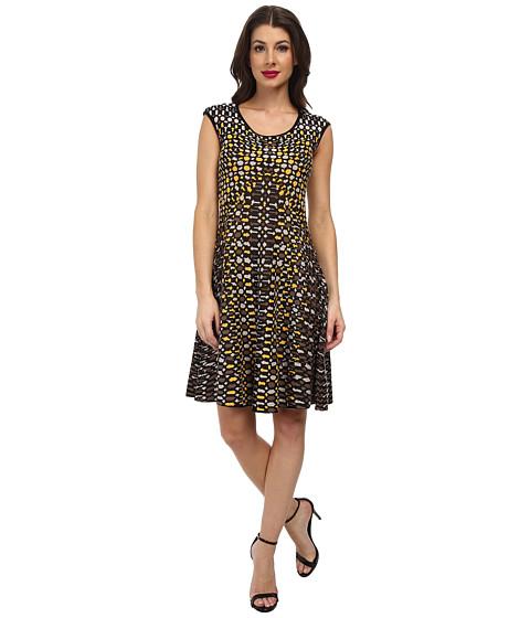 Nic Zoe Textural Dots Twirl Dress Multi 6pm Com
