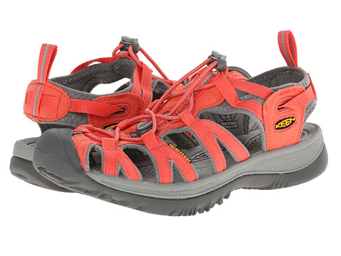 Keen Whisper Hot Coral Neutral Gray Zappos Com Free