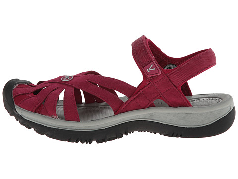 Keen Rose Sandal Beet Red Neutral Gray 6pm Com