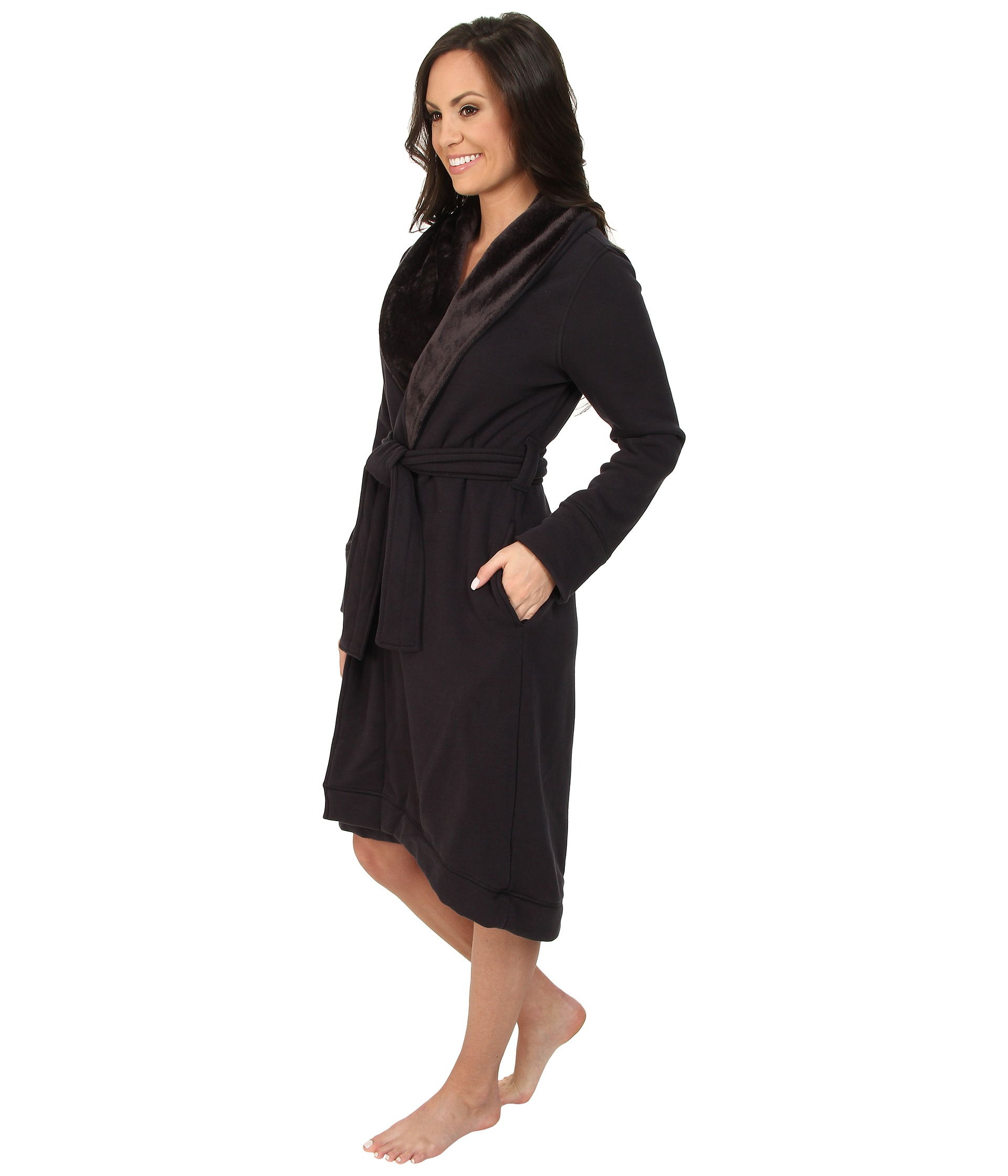 Ugg Duffield Robe Charcoal 23e51e03d