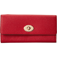$101.69 COACH Embossed Txtrd Slim Env w/ Popup