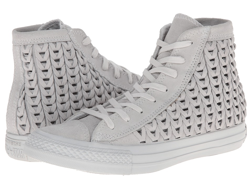 19390b11f756 Converse - Chuck Taylor All Star Elevated Woven Hi (Powder) Women s Shoes