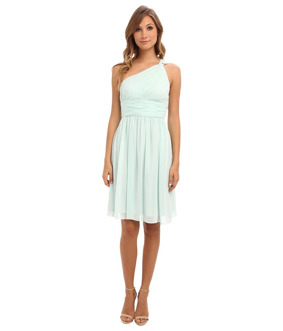 3c234f6e404d4 $150.99 More Details · Donna Morgan - Rhea Short One Shoulder (Beachglass)  Women's Dress