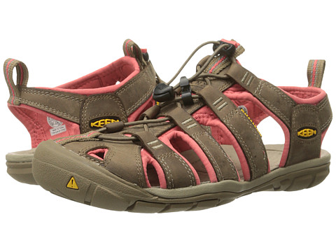 Keen Clearwater Cnx Leather Shitake Rose 6pm Com