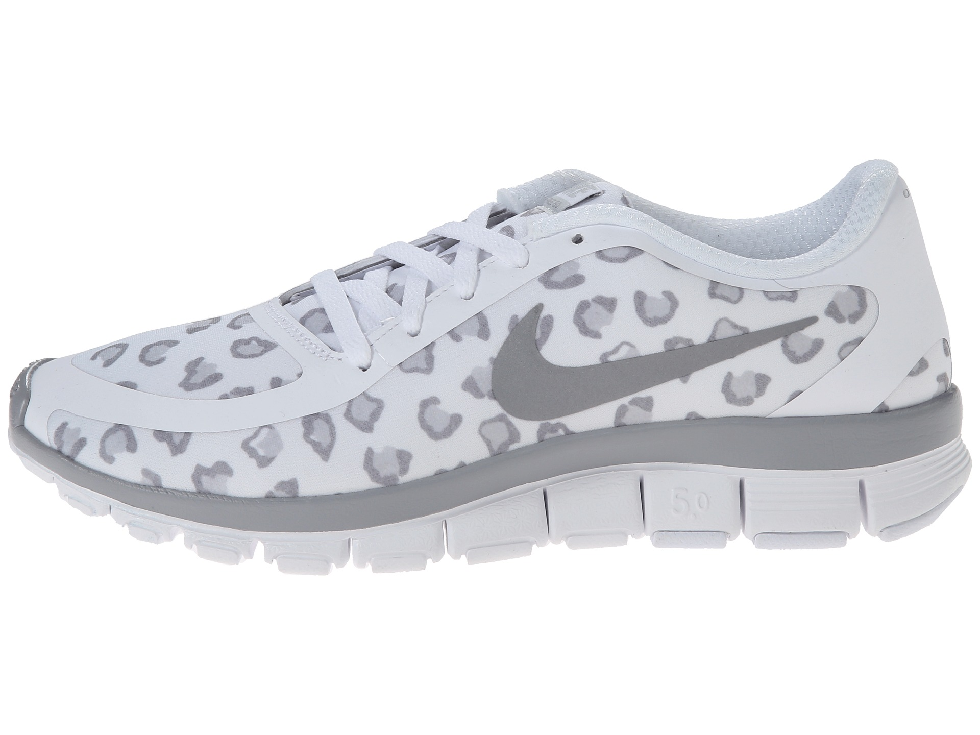 new product 342e9 1cc33 Nike Free 5.0 V4 Womens Cool Grey Pink White