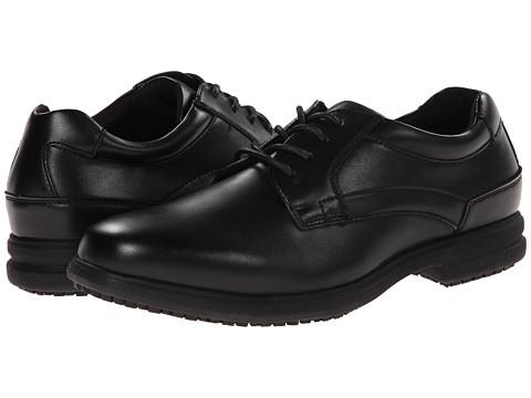 Nunn Bush Sherman Slip Resistant Plain Toe Oxford At
