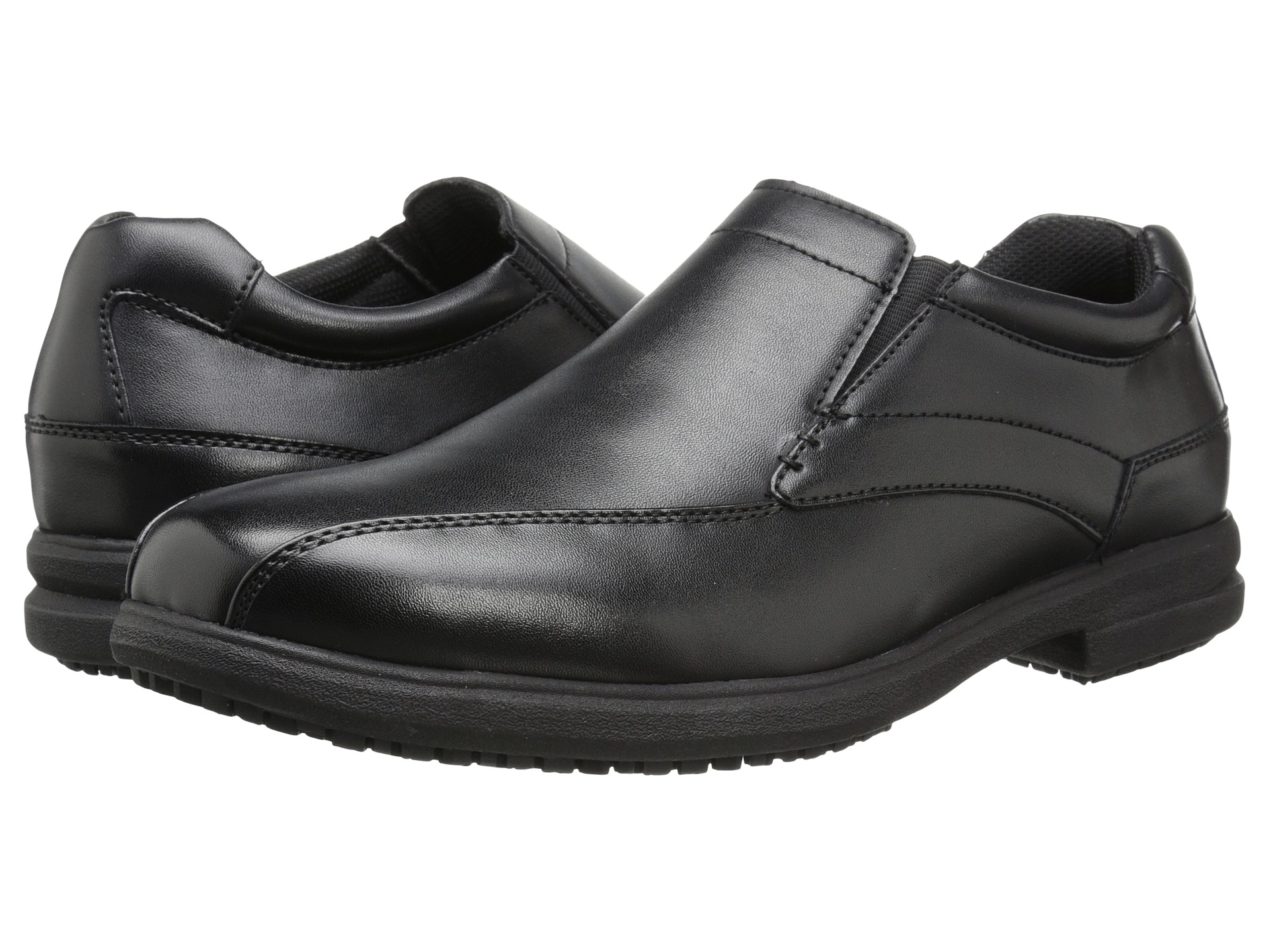 Nunn Bush Sanford Slip Resistant Bicycle Toe Oxford Slip