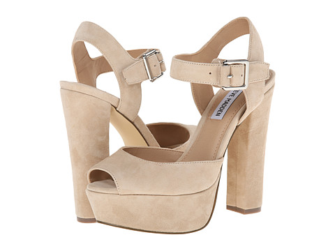 60859c51914 Heighten your attention in the Jillyy heels from Steve Madden®. Leather  upper.