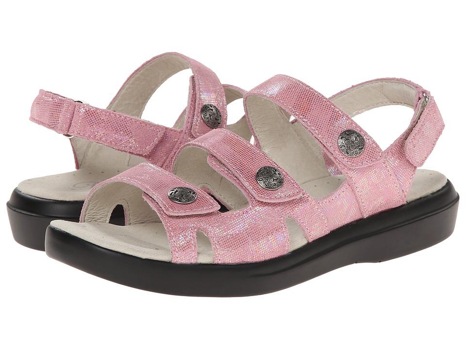 Ladies Wide Fit Pink Shoes