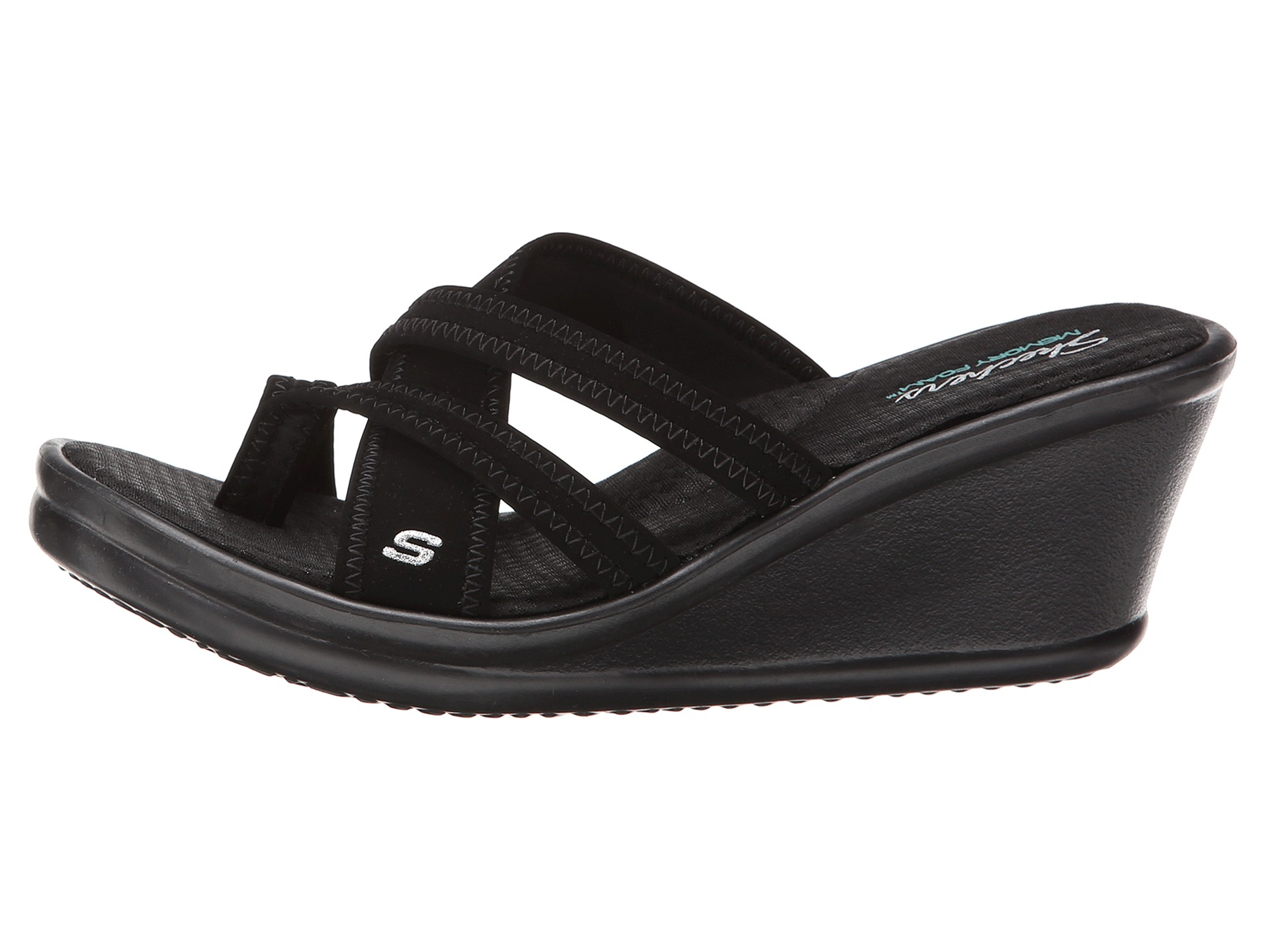 d12a73a78 Buy black sketcher sandals   OFF58% Discounted