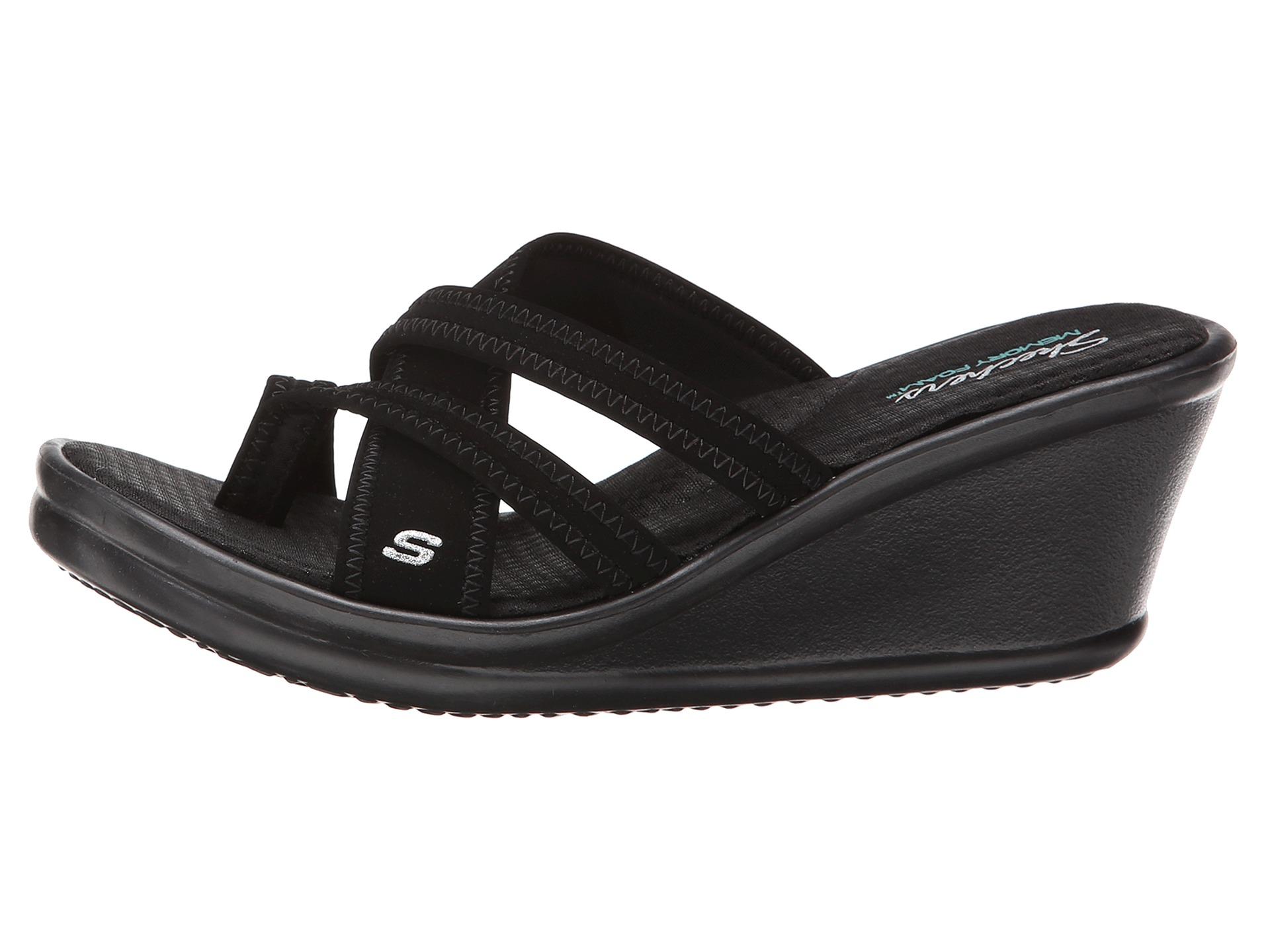 041f72bd5b8e Buy black sketcher sandals   OFF58% Discounted