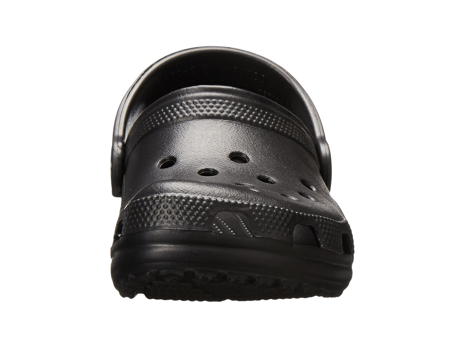 7952a47bc8dd Crocs Kids Classic (Infant Toddler Youth) Black on PopScreen