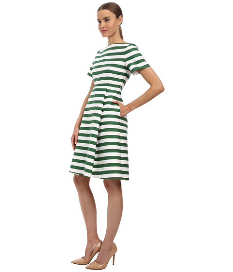 Kate Spade New York Yarn Dyed Stripe Fit And Flare Dress